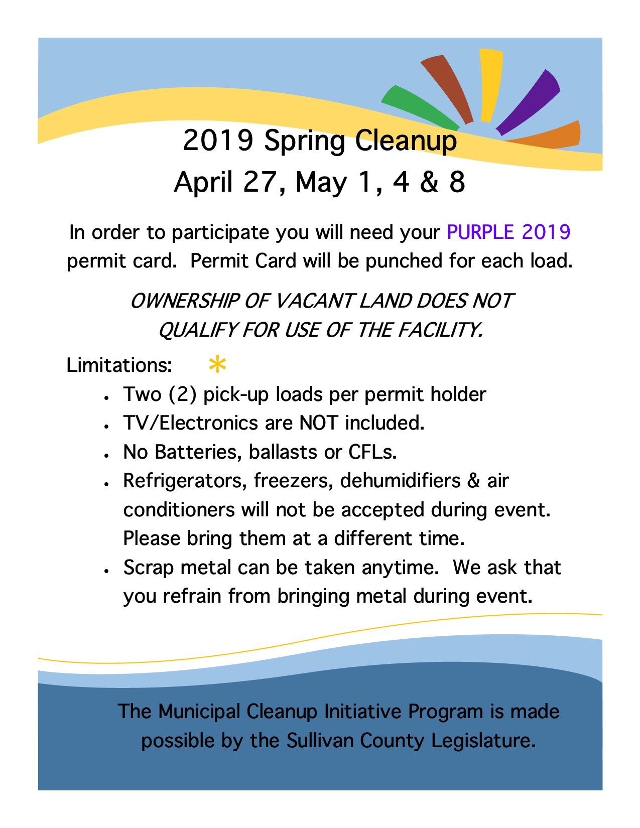 2019 Spring Cleanup