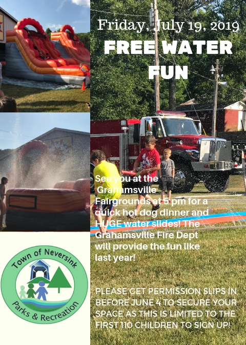 July 19 2019 Free Water Fun