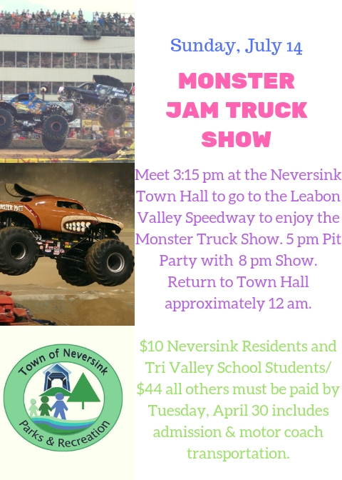 Monster Jam Truck Show July 14 2019