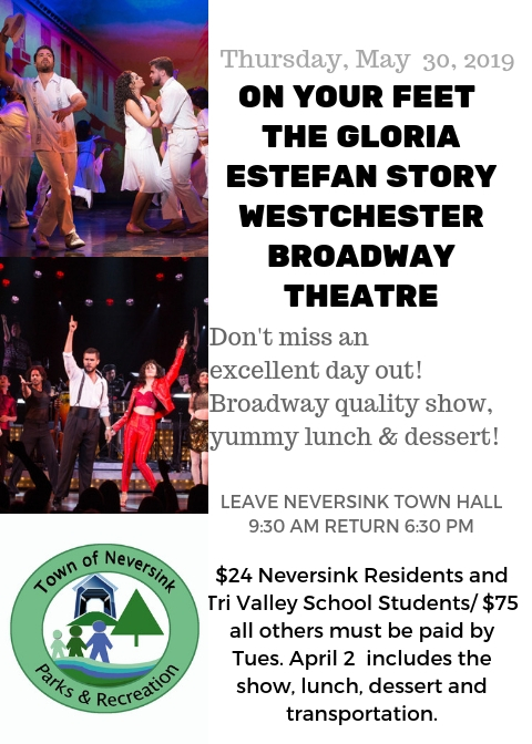 Westchester Broadway Dinner Theatre May 30 2019